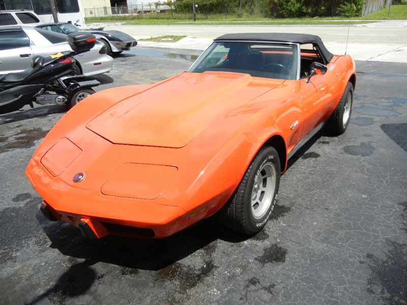 1975 Corvette, 350 CI, 205 HP
