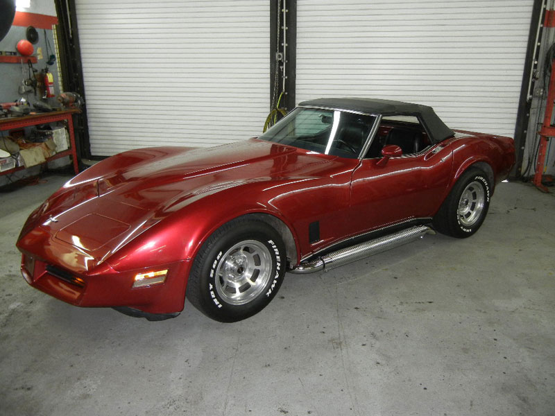 1980 Corvette - 350 CI rated @ 350 HP
