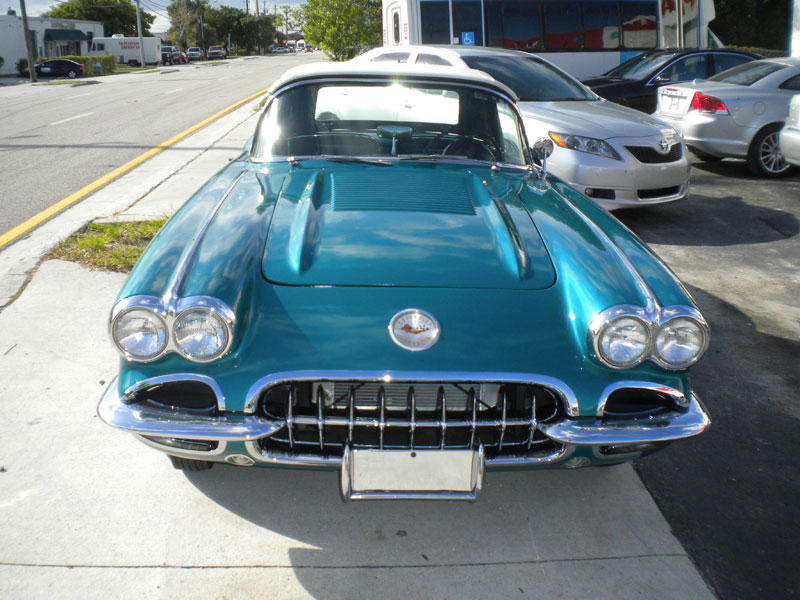 1958 corvette, frame off restoration