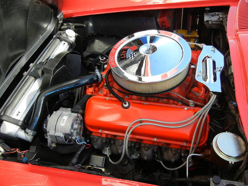 1966 Corvette, complete restoration, engine build, complete interior