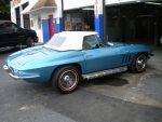 1966 Corvette, frame off restoration, big block, 427 cubic inch, 425 horsepower