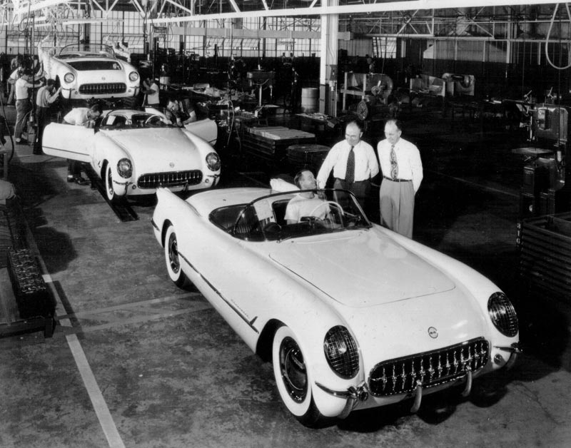 The first generation Chevrolet Corvette
