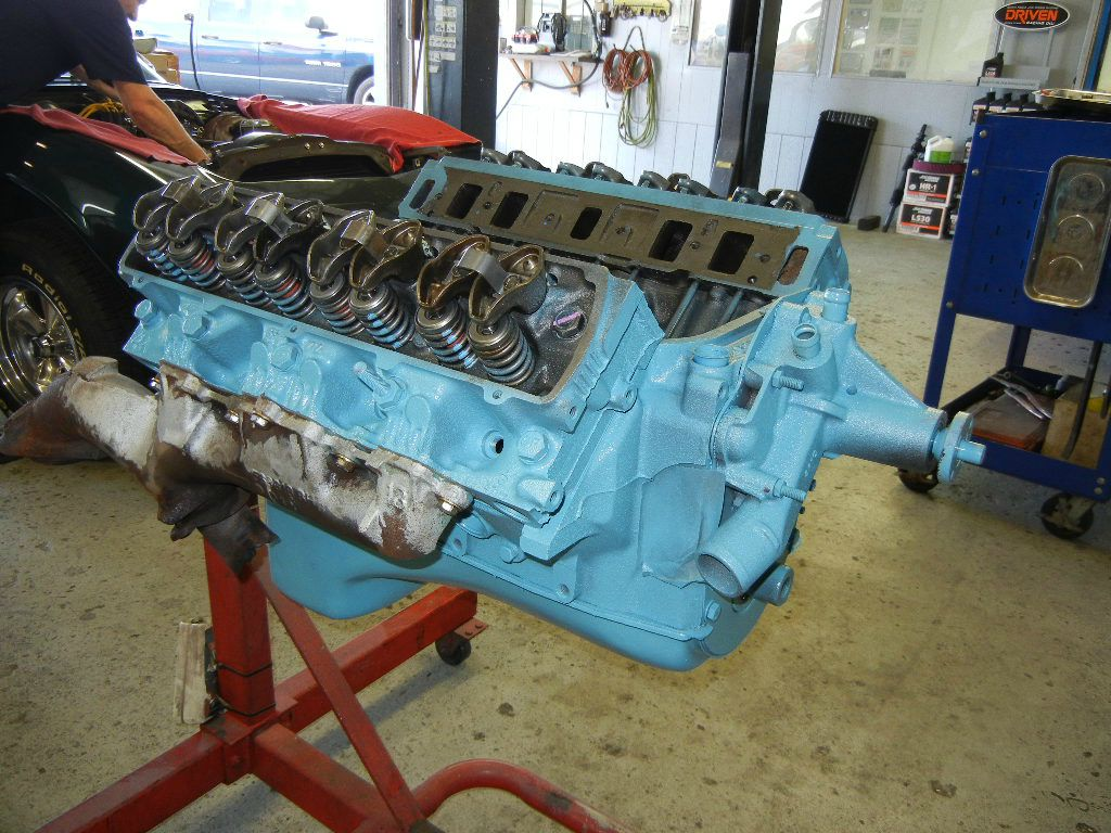 1962 Corvette engine rebuild