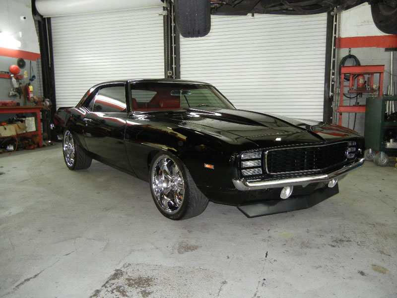 1967 Chevrolet Camaro, resto mod, LS2 engine, 6 speed transmission, supercharged