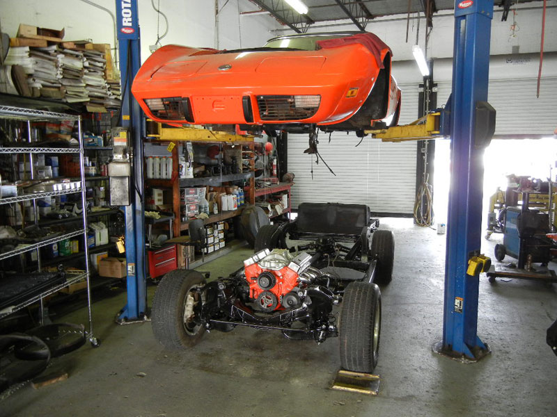 1975 Corvette, frame off restoration
