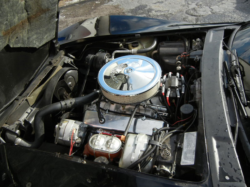 1978 Pace Car, engine performance work and suspension