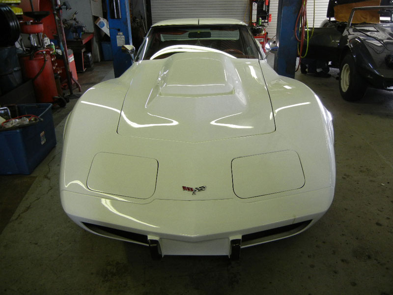1978 Corvette, frame off restoration