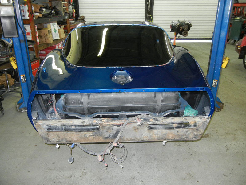 1979 Corvette, frame off restoration, resto mod.