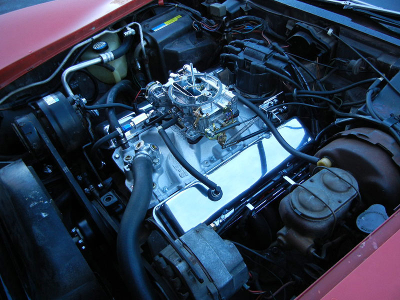 1980 Corvette, performance upgrades