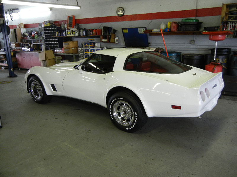1981 Corvette, interior work, engine build with performance upgrades, custom exhaust work
