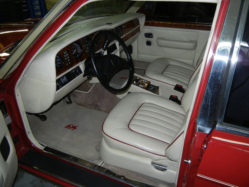 1986 Rolls Royce, engine build, suspension & steering