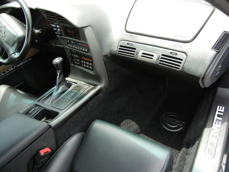 1995 Corvette, interior work