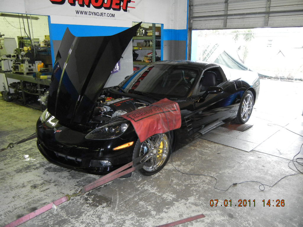 2007 Corvette, 102mm fast intake, Nick williams throttle body, air induction kit & tune