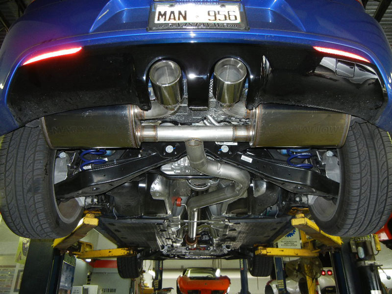 2012 VW Golf R , custom exhaust work.