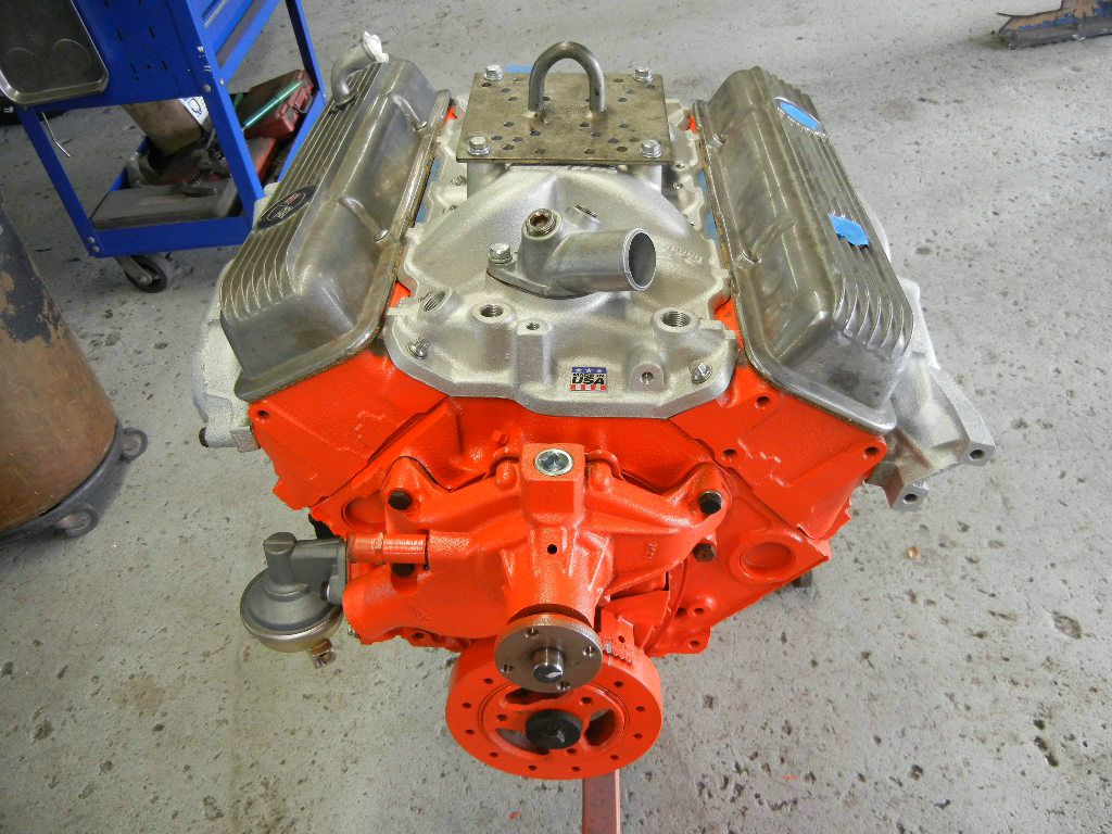 Corvette Engine Rebuild